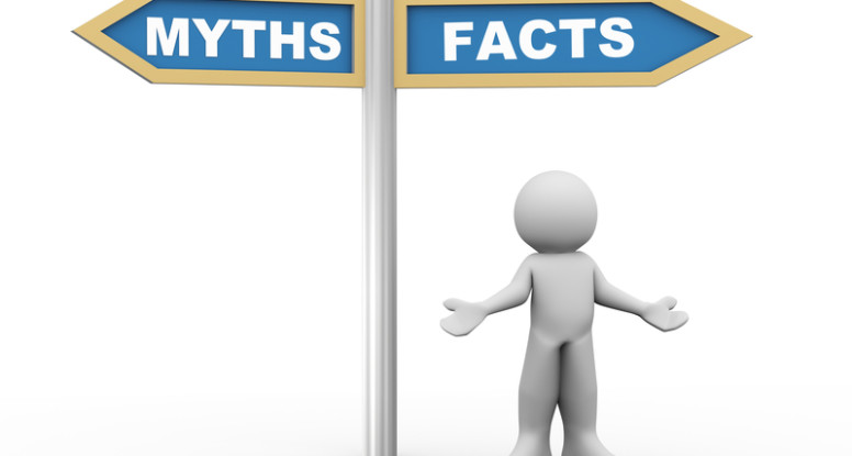Don't believe everything you hear. Top 10 automobile marketing myths graphic