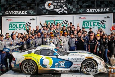 Client Command® Sponsored SRT Viper #1 in Rolex24 GTD