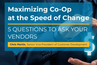 Maximize Your Co-Op: 5 Questions to Ask Vendors