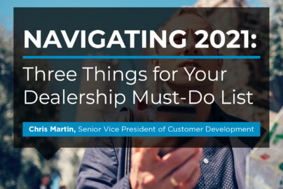 Three Things Dealers Must Do